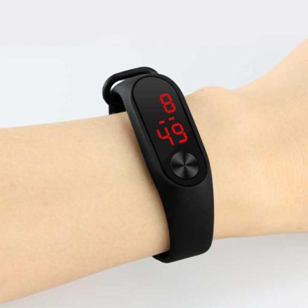 LED-skärm Digital armbandsur Fitness Armbandssport