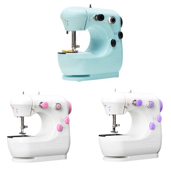 Mini elektrisk symaskin bärbar hushållsbearbetningsmaskin