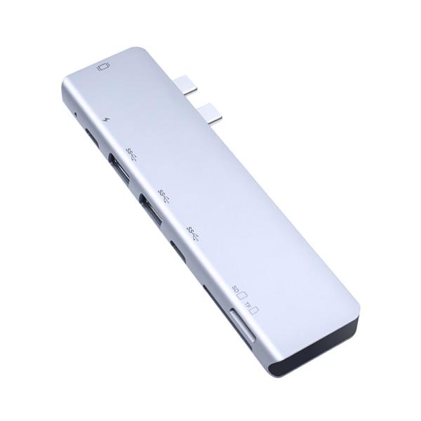 Typ-c Hub HD-kortläsare Videoadapter USB-C-omvandlare