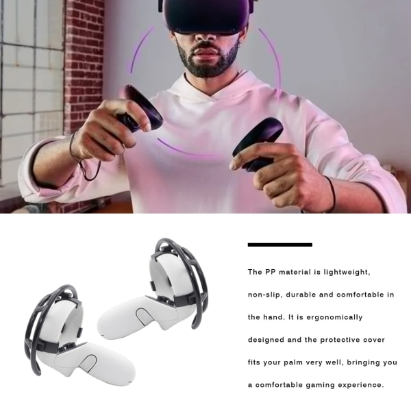VR Controller Cover Gaming Handle Case Game Grip Sleeve Cover