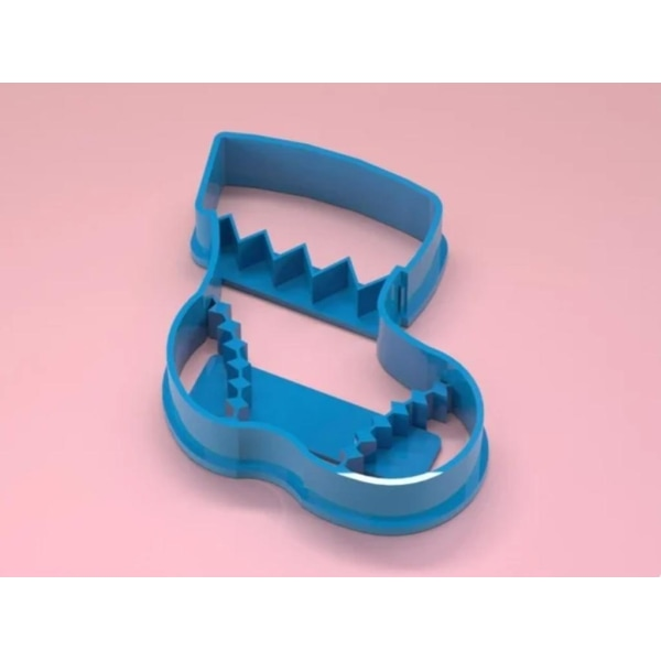 "Boot / Shoe"" Christmas Cookie cutters Vit XL"