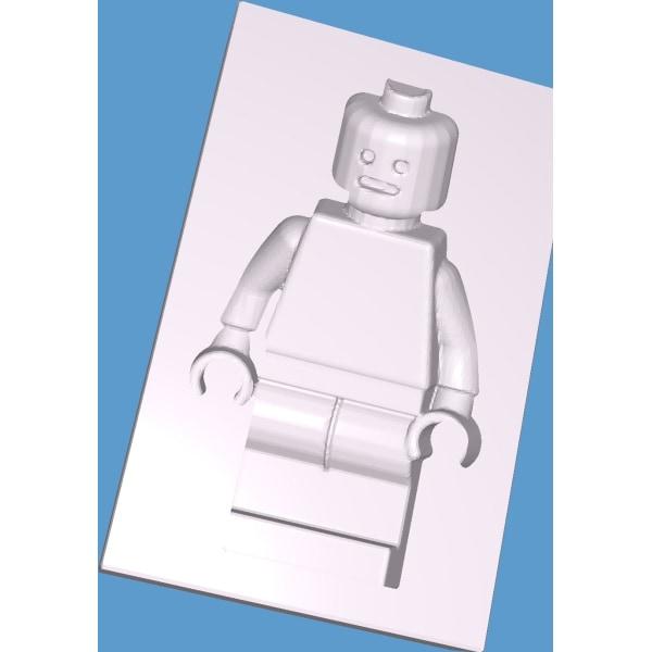 LEGO Figure molds for casting, 2 parts, concrete,  baking... Vit M