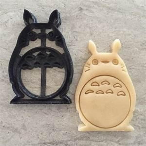 Totoro Cookie Cutter multifärg S