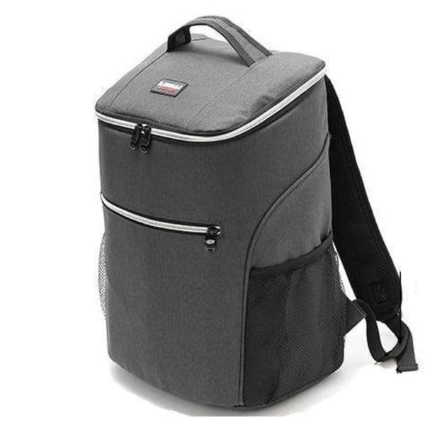 20L Smidig kylryggsäck med Extra Utrymme Grå  grå one size