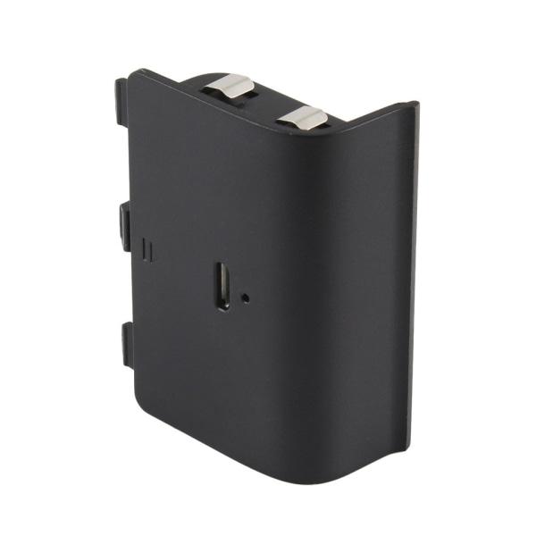 2400mAh uppladdningsbart Batteri Pack för XBOX ONE Svart one size