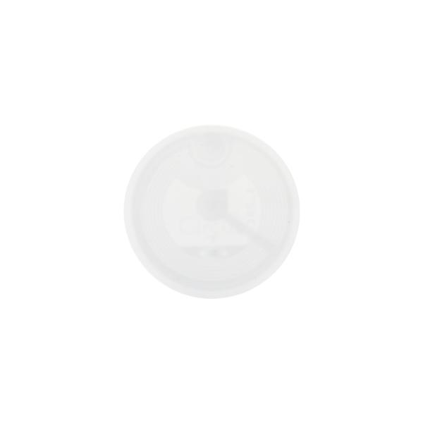 NFC Självhäftande tag 13.56MHz ISO14443A Ntag 215 Vit Vit one size