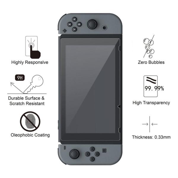 Nintendo Switch Härdat glas skärmskydd Transparent