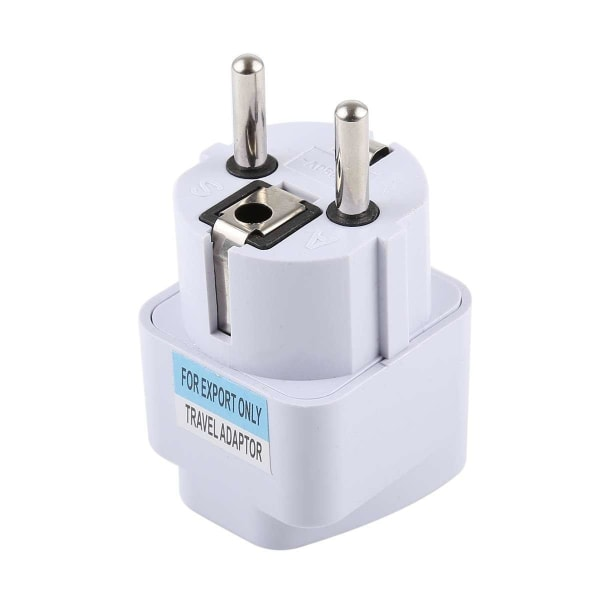 Resa adapter uk / us / eu / au till EU nätadapter omvandlare Svart one size