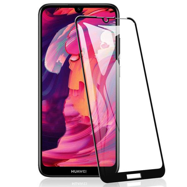 Skärmskydd - Huawei Y6 (2019) - Heltäckande Glas