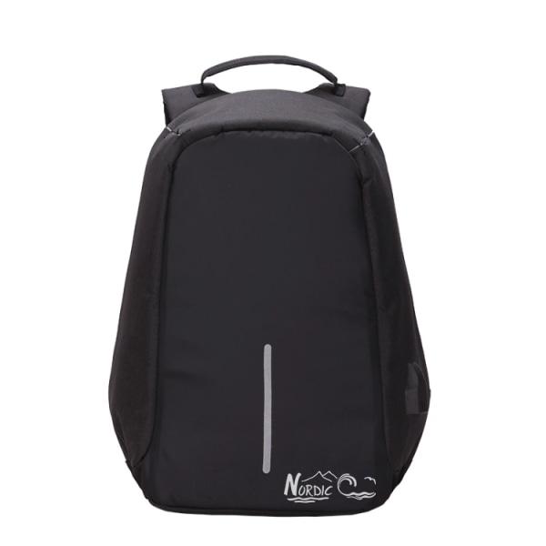 Anti stöld ryggsäck väska nordic c multifunktionell