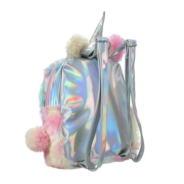 Köp Fluffig Ryggsäck för Barn Unicorn Väska