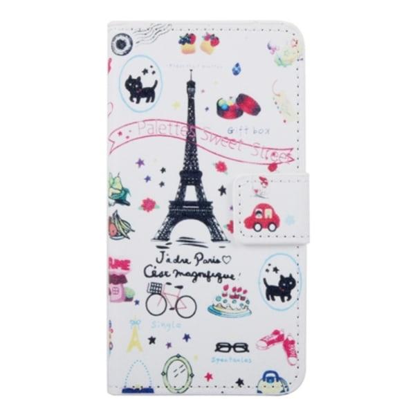 HTC One A9 Plånboksfodral Paris Symboler