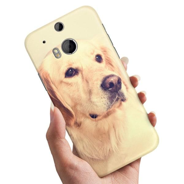 HTC One M8 - Skal / Mobilskal Golden Retriever