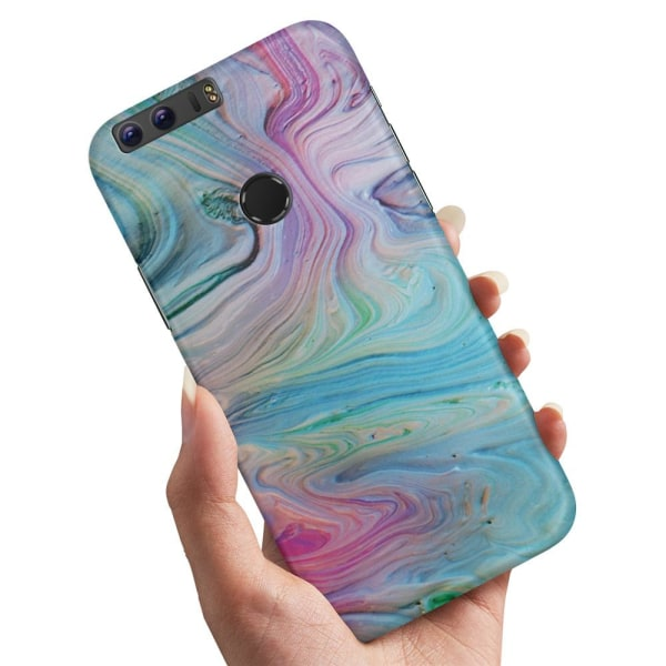 Huawei Honor 8 - Skal / Mobilskal Målarfärg Mönster