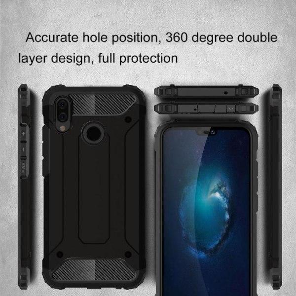 Huawei Y6 (2019) - Skal / Mobilskal Tough - Flera färger Svart
