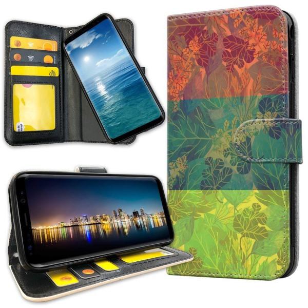 iPhone SE (2020) - Mobilfodral Lövmönster