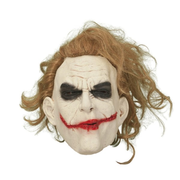 Jokern med hår Mask - Halloween & Maskerad
