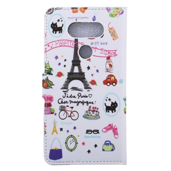 LG G5 Plånboksfodral Eiffeltornet Symboler