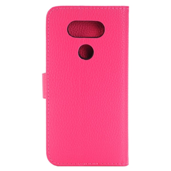 LG G5 Plånboksfodral Lyché Läder Rosa pink