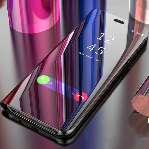 Xiaomi Mi Note 10 - Mobilfodral / Fodral Spegel - Flera färger Ljusrosa