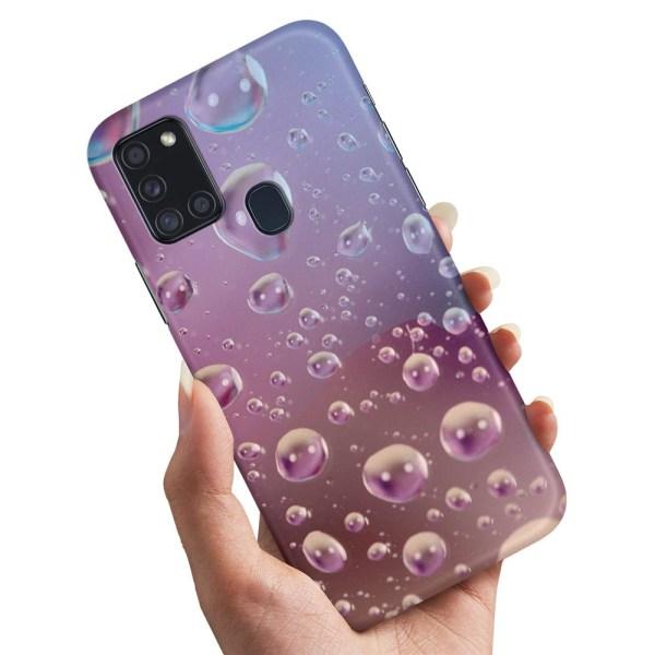 Samsung Galaxy A21s - Skal / Mobilskal Bubblor