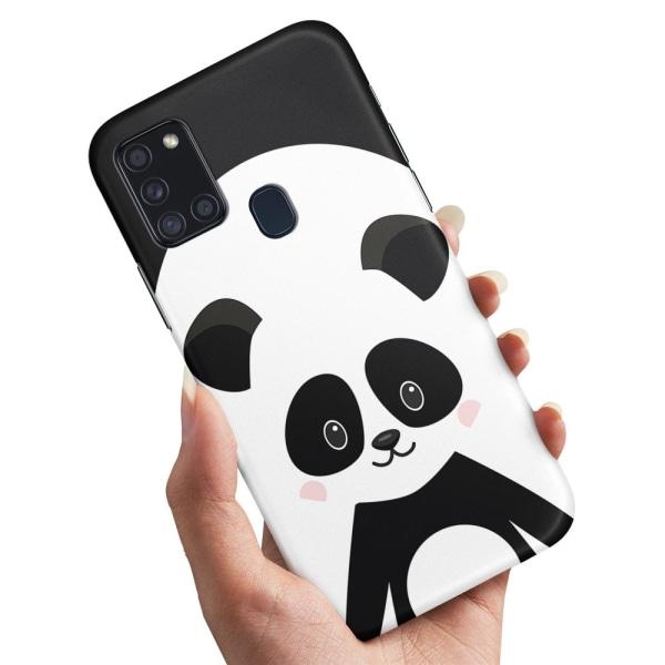 Samsung Galaxy A21s - Skal / Mobilskal Cute Panda