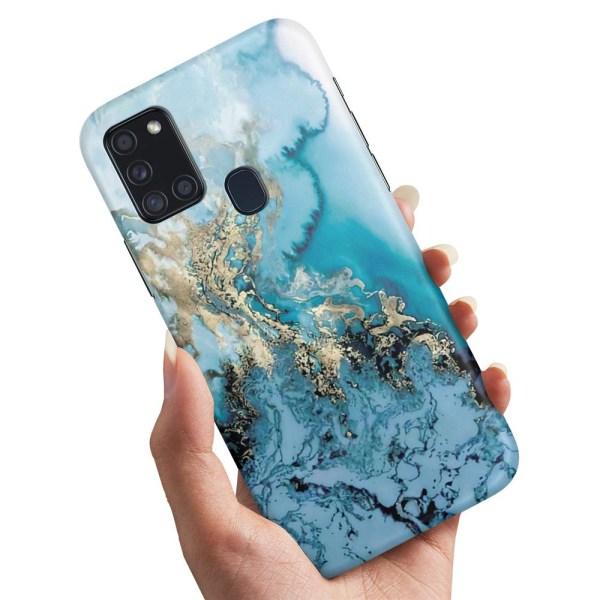 Samsung Galaxy A21s - Skal / Mobilskal Konstmönster