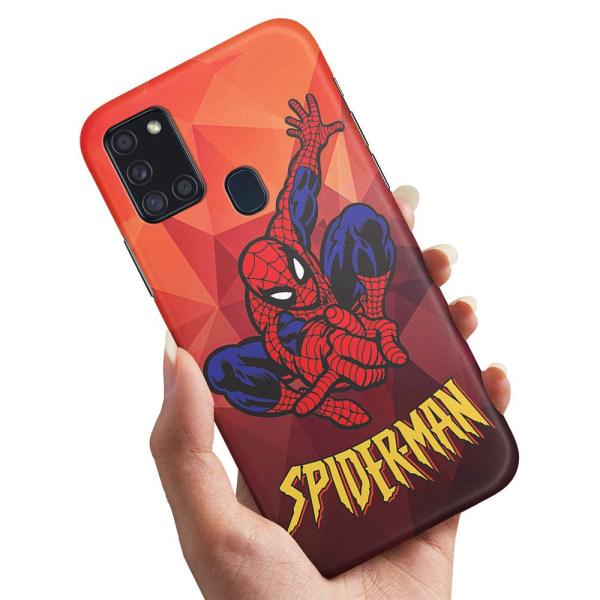 Samsung Galaxy A21s - Skal / Mobilskal Spider-Man