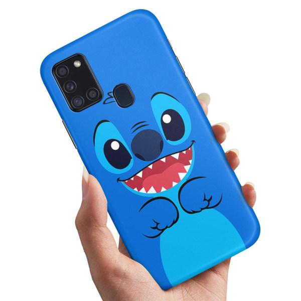 Samsung Galaxy A21s - Skal / Mobilskal Stitch