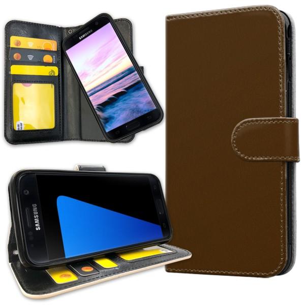Samsung Galaxy S5 - Mobilfodral Brun Brun