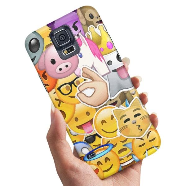 Samsung Galaxy S5 - Skal / Mobilskal Smiley