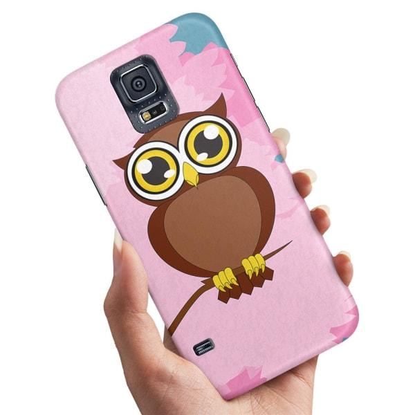 Samsung Galaxy S5 - Skal / Mobilskal Stor Uggla