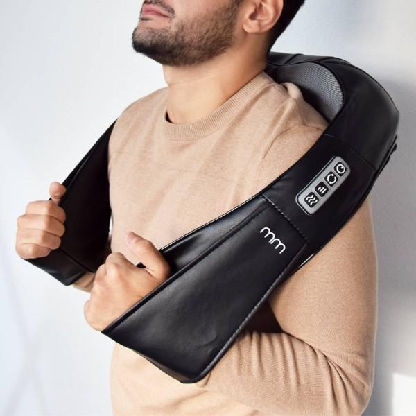 Shiatsu Massage - Masserar nacke, axlar & rygg