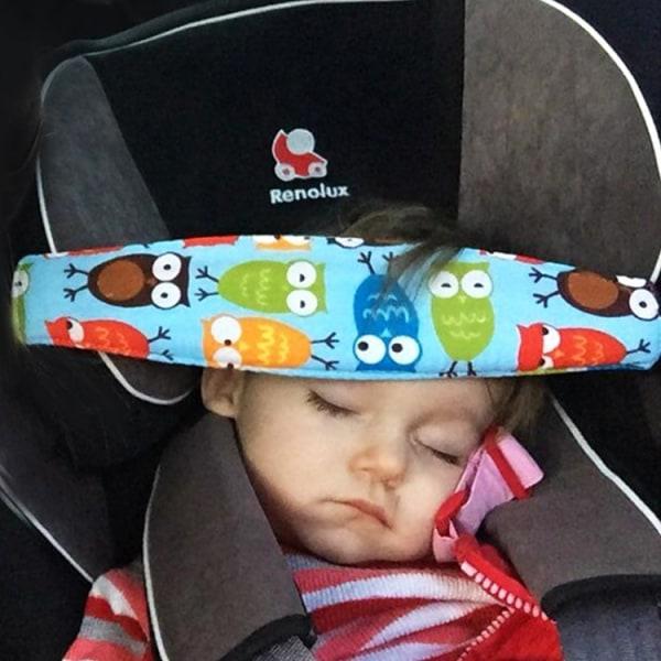 Sovstöd Bilbarnstol / Stöd för barns huvud - Flera färger 8