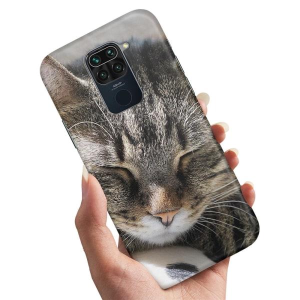 Xiaomi Redmi Note 9 - Skal / Mobilskal Sovande Katt