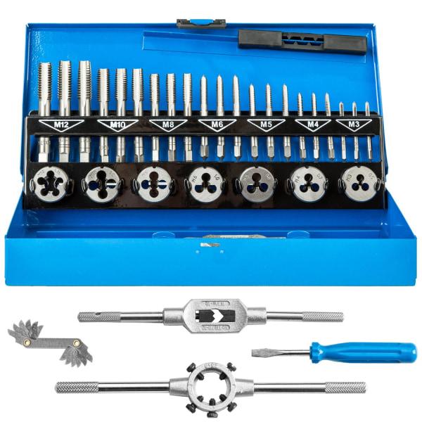 Gängverktyg set 32 delar blå