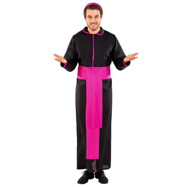tectake Maskeraddräkt Ärkebiskop Ferdinand Black XXL