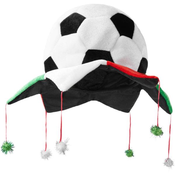 tectake Fotbollsfanhatt Mexiko multifärg
