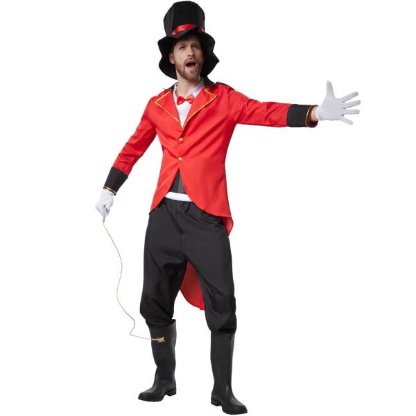 tectake Käck Cirkusdirektör Red M