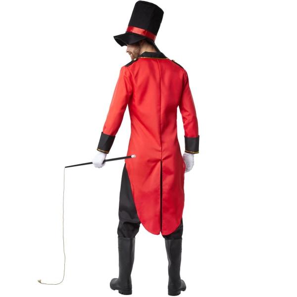 tectake Käck Cirkusdirektör Red S