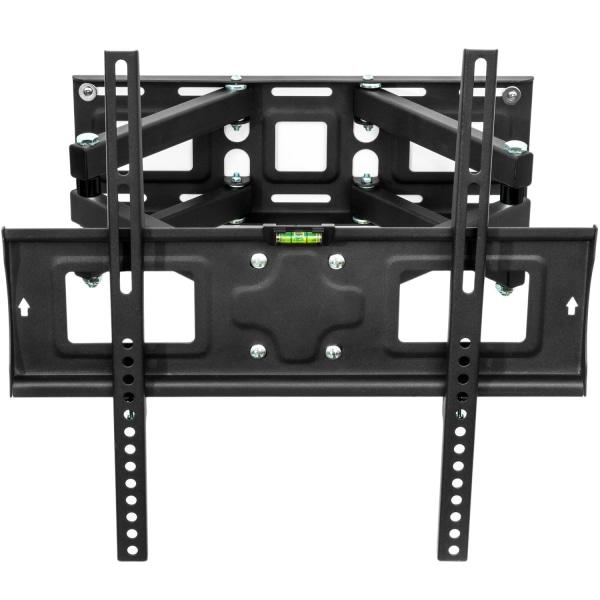tectake Väggfäste TV för 26-55 tum lut-och vridbar, VESA max.: 4 Svart