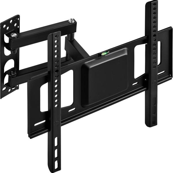 tectake Väggfäste TV för  26-55 tum lut-och vridbar, VESA max.:  Svart