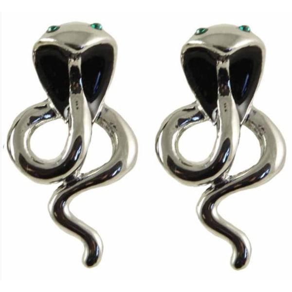 Clipsörhängen för dig utan hål i öronen m kristaller