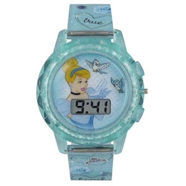Disney Prinsess Cinderella digital Blinkande barnklocka - klocka Blå