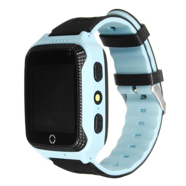 GPS+LBS Smartklocka Stegräknare mm för barn. Sim-kort Medföljer Gul