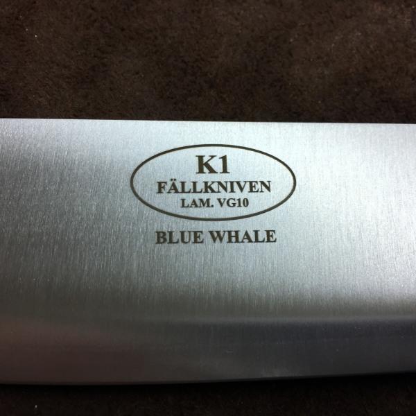 FÄLLKNIVEN K1 Blue Whale Chef's knife