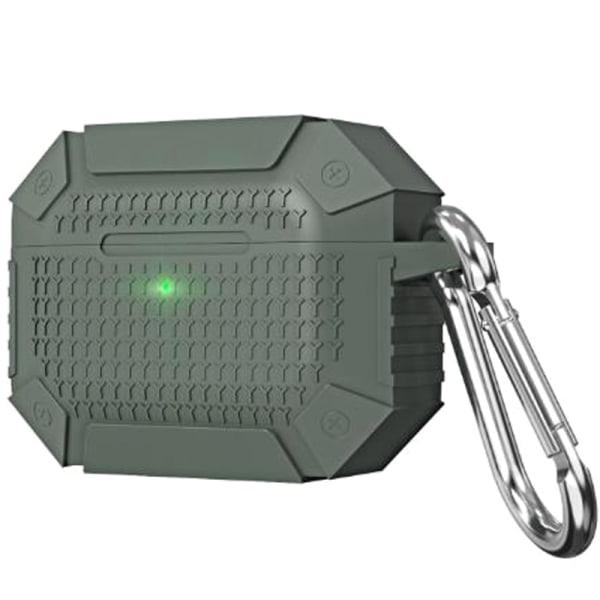 Airpods 3 Armor Headset Förvaringsbox Liten bärbar hörlur Green