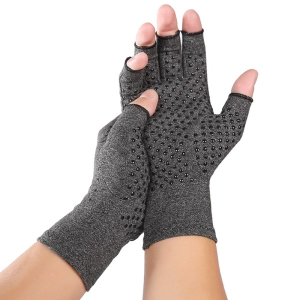 Compression Gloves Sweat Absorb Sport Half-finger Gloves L