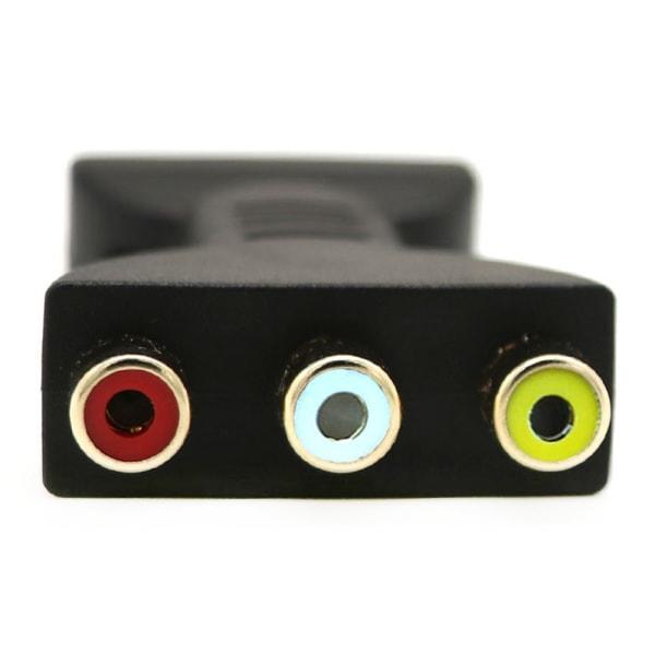 Elektroniska kablar Signalomvandlare HDMI till AV-omvandlare Protable