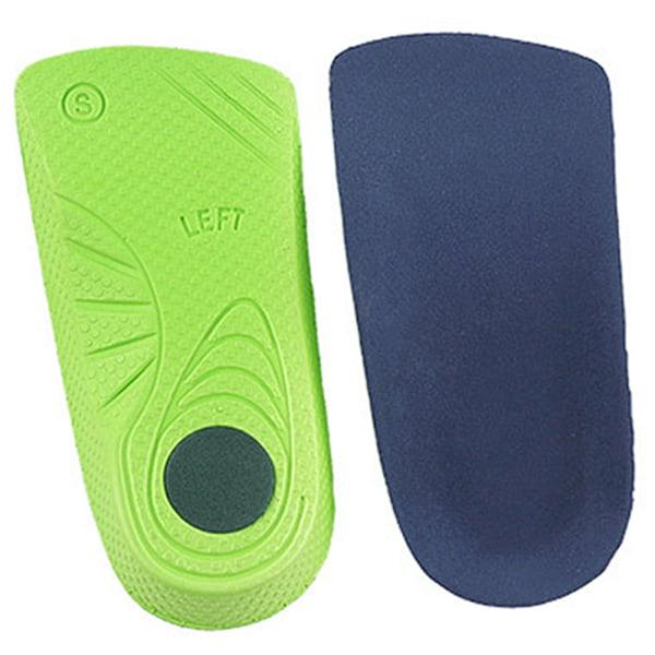 Fötter Ortotisk sko Innersula hög båge platt fotstöd Red XS